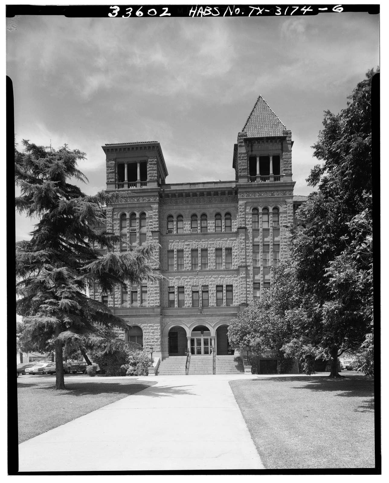 Bexar County Courthouse, 20 Dolorosa Street, San Antonio, Bexar County, TX