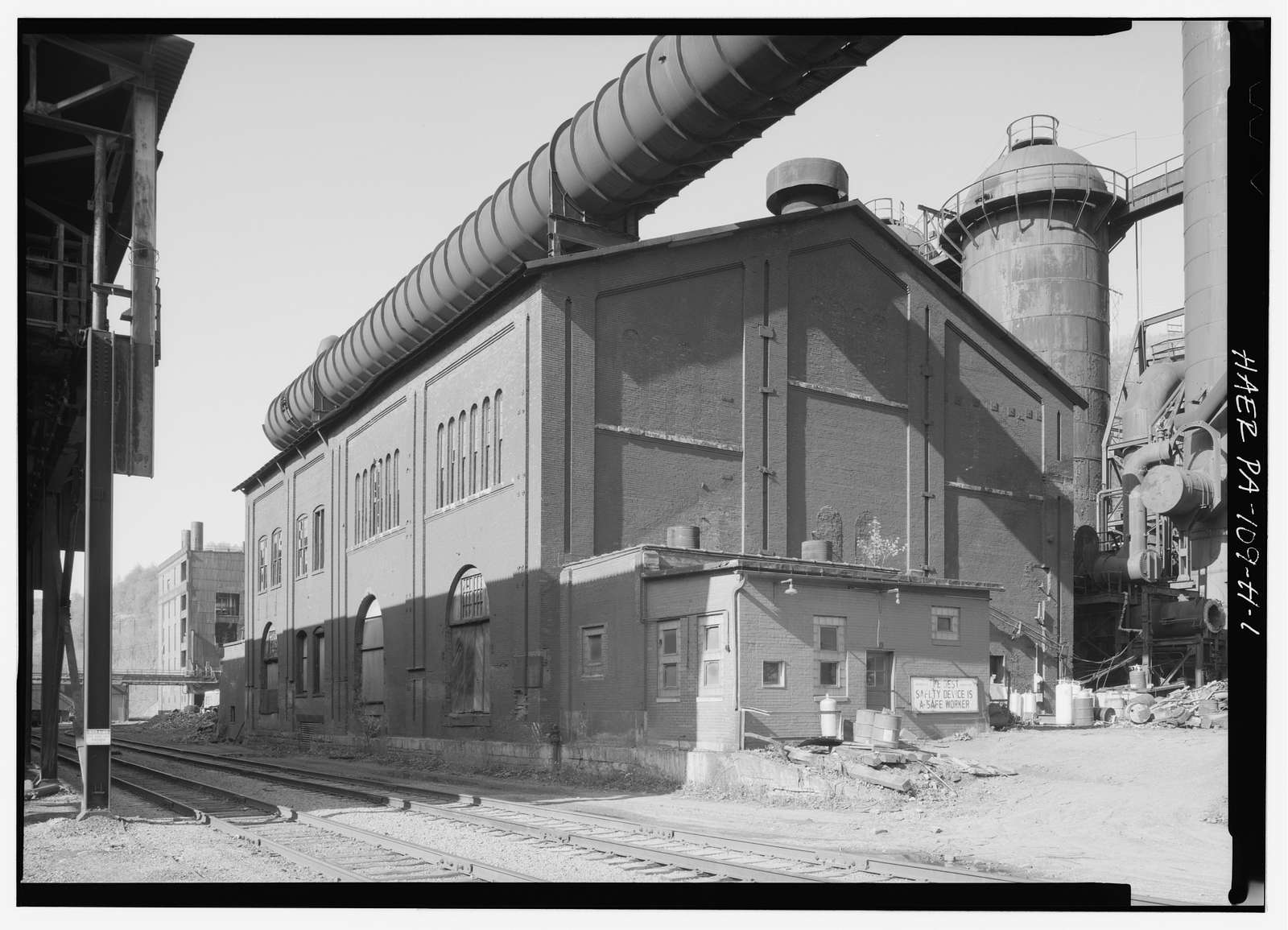 Cambria Iron Company, Blast Furnaces No. 5 & 6 Blowing Engine House, Lower Works, Johnstown, Cambria County, PA