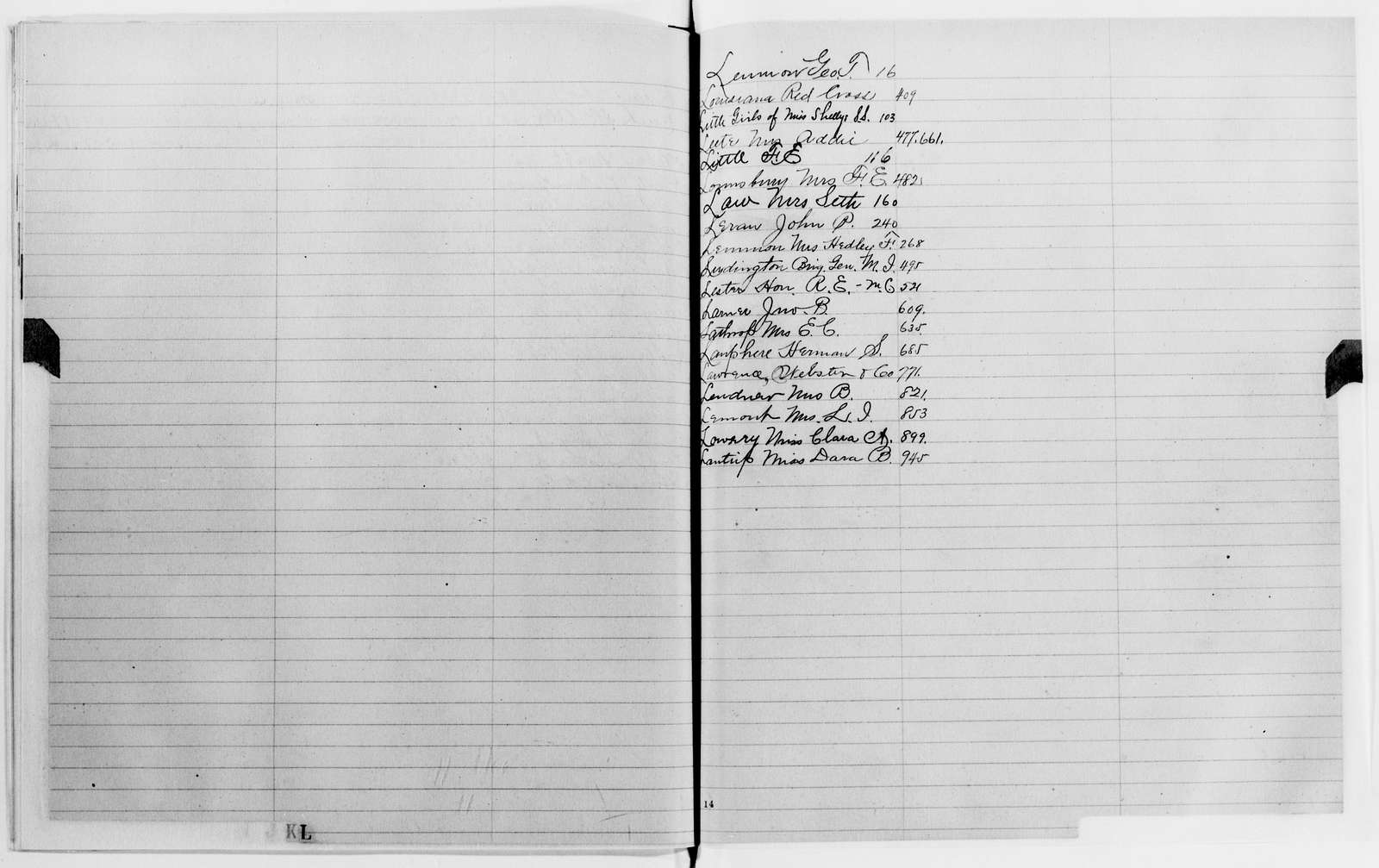 Clara Barton Papers: Letterbooks, 1876-1911; 1899, Mar.-July; pp. 1-471