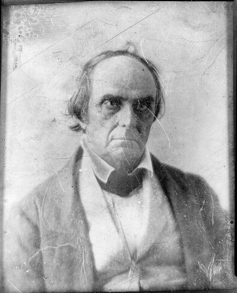 [Daniel Webster, head-and-shoulders portrait, facing slightly right]