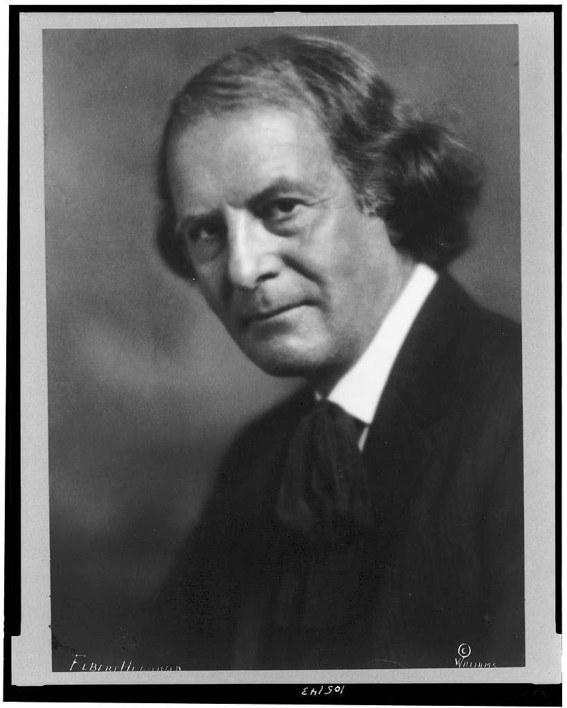 Poet Elbert Hubbard