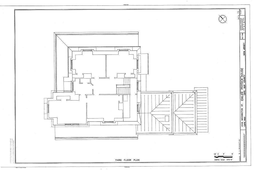 Emlen Physick House, 1048 Washington Street, Cape May, Cape May County, NJ