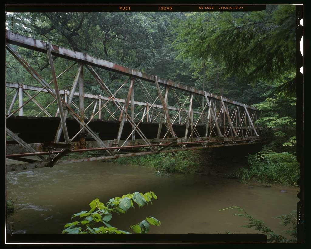 Falling Rock Camp Bridge, Spanning Rocky Fork Creek, Hickman, Licking County, OH