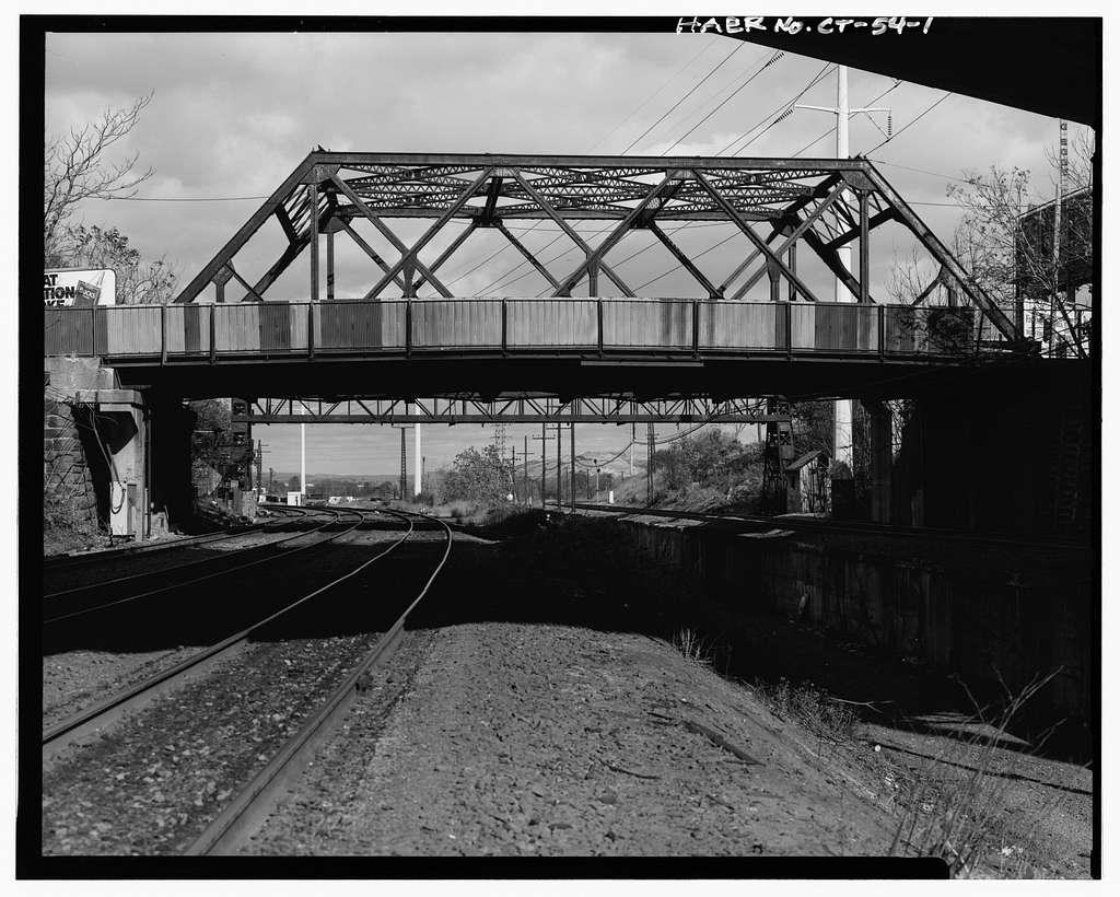 Ferry Street Railroad Bridge, Ferry Street over New Haven Railroad, New Haven, New Haven County, CT