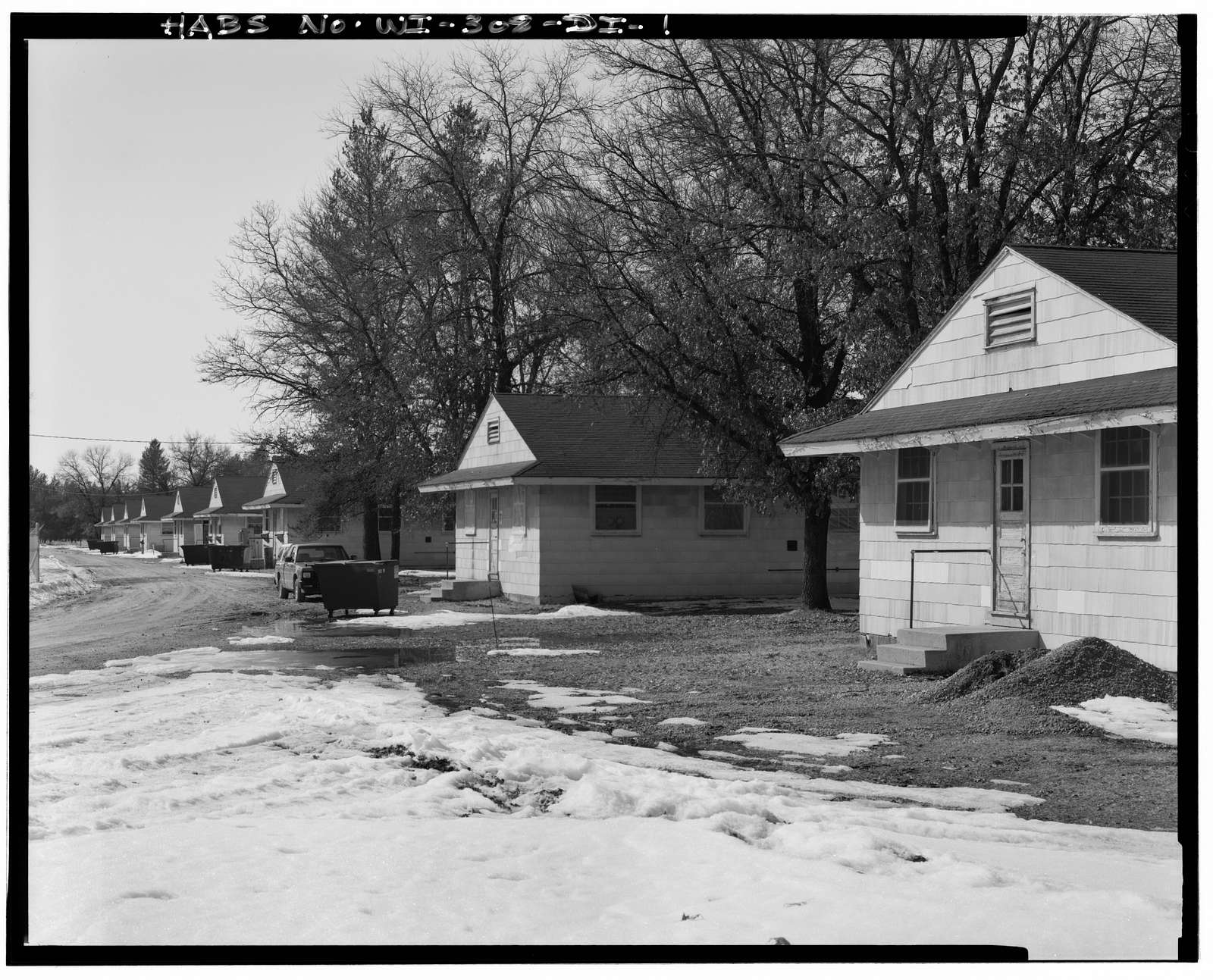 Fort McCoy, Building No. T-1096, South side of South Ninth Avenue, Block 10, Sparta, Monroe County, WI