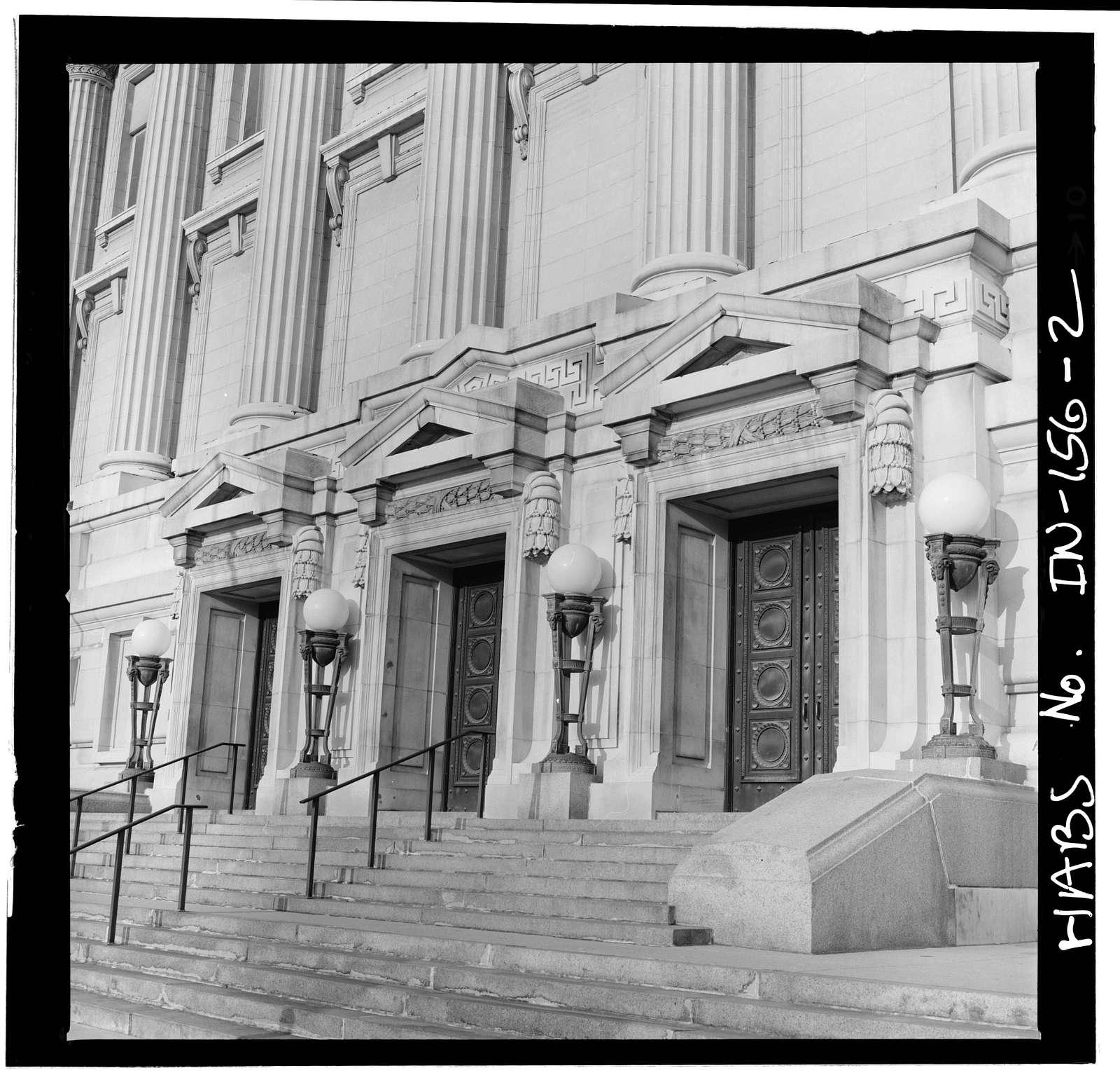 Indianapolis City Hall, 202 North Alabama, Indianapolis, Marion County, IN