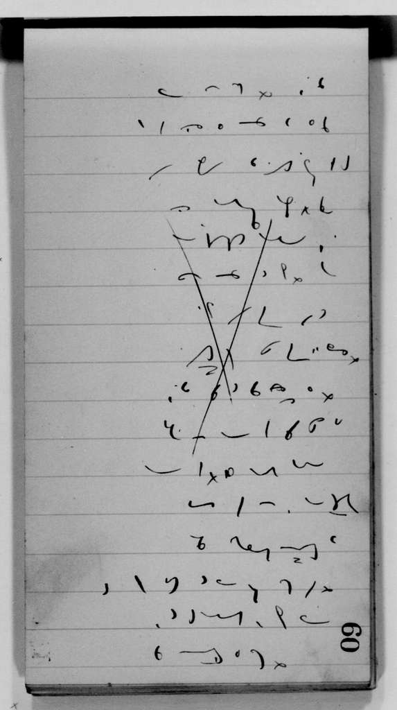 James A. Garfield Papers: Series 16, Shorthand Notebooks and Notes, 1871-1881; Shorthand notebooks and notes, 1871-1881