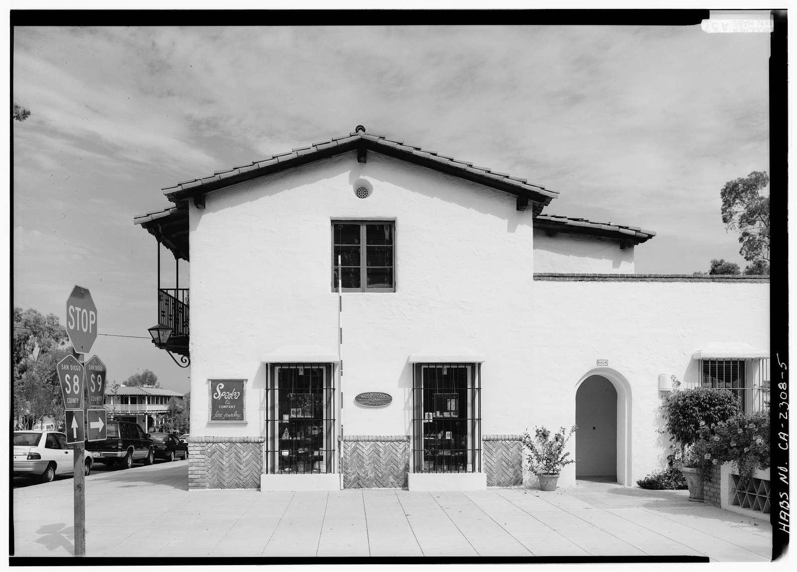 Joers-Ketchum Store, 6014-6016 La Granada, Rancho Santa Fe, San Diego County, CA