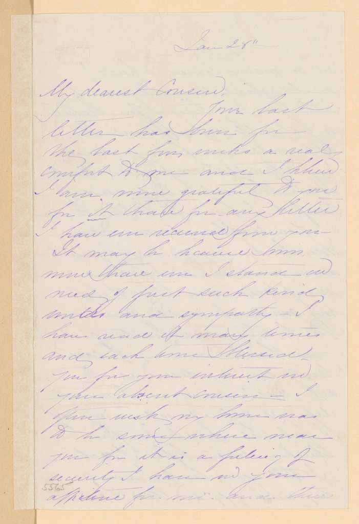 Joseph Holt Papers: General Correspondence and Related Material, 1817-1894; 1864, Jan. 7-Feb. 29