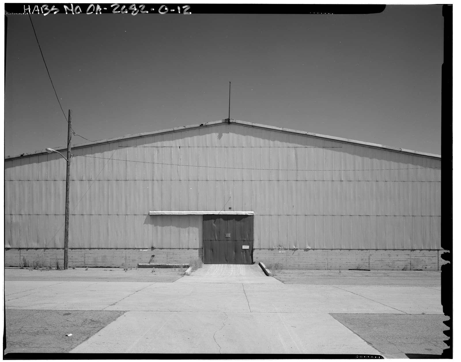 Naval Supply Annex Stockton, Steel Warehouse Type, Between James & Humphreys Drives south of Embarcadero, Stockton, San Joaquin County, CA