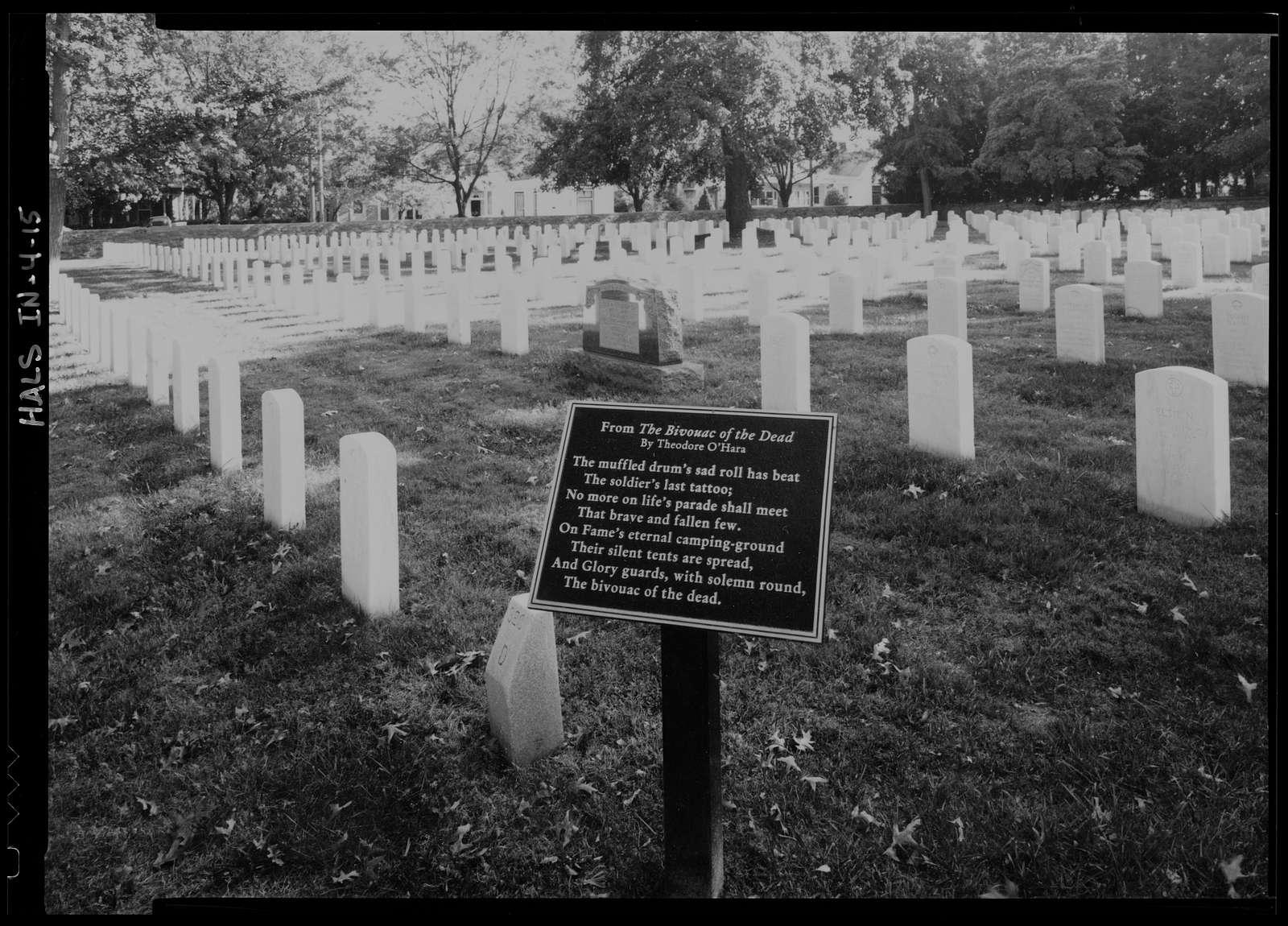 New Albany National Cemetery, 1943 Ekin Avenue, New Albany, Floyd County, IN
