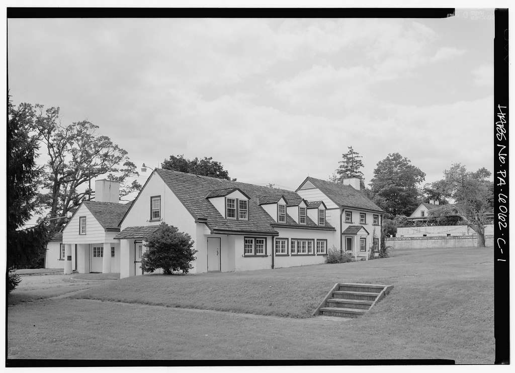Normandy Farm, Carriage House, Morris & DeKalb Roads, Franklinville, Montgomery County, PA