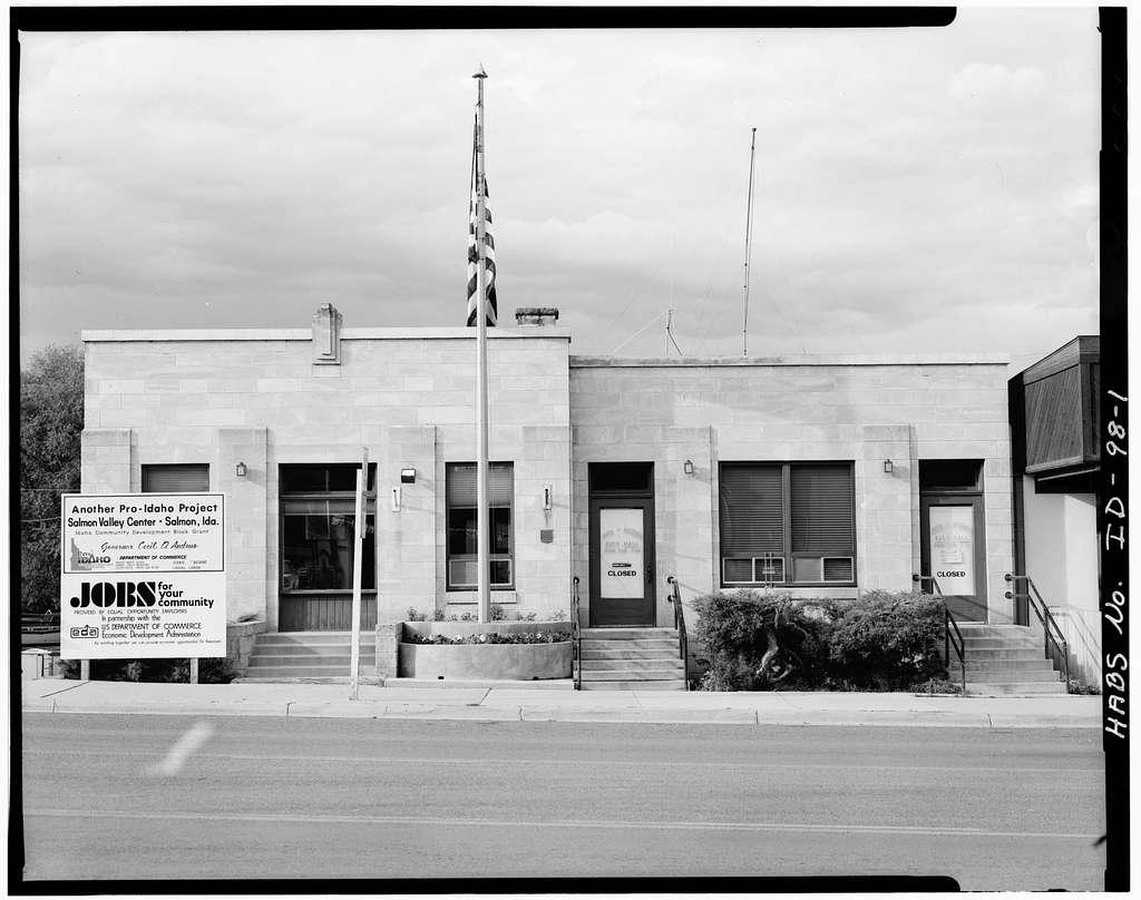 Salmon City Hall & Library, 200 Main Street, Salmon, Lemhi County, ID
