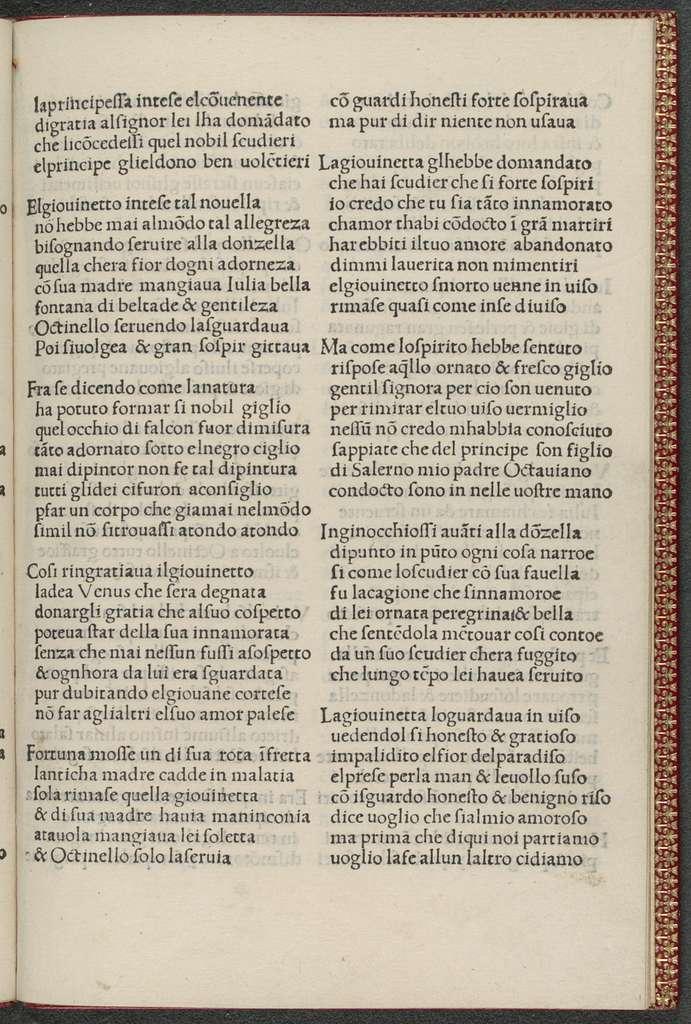 Storia di Ottinello e Giulia.