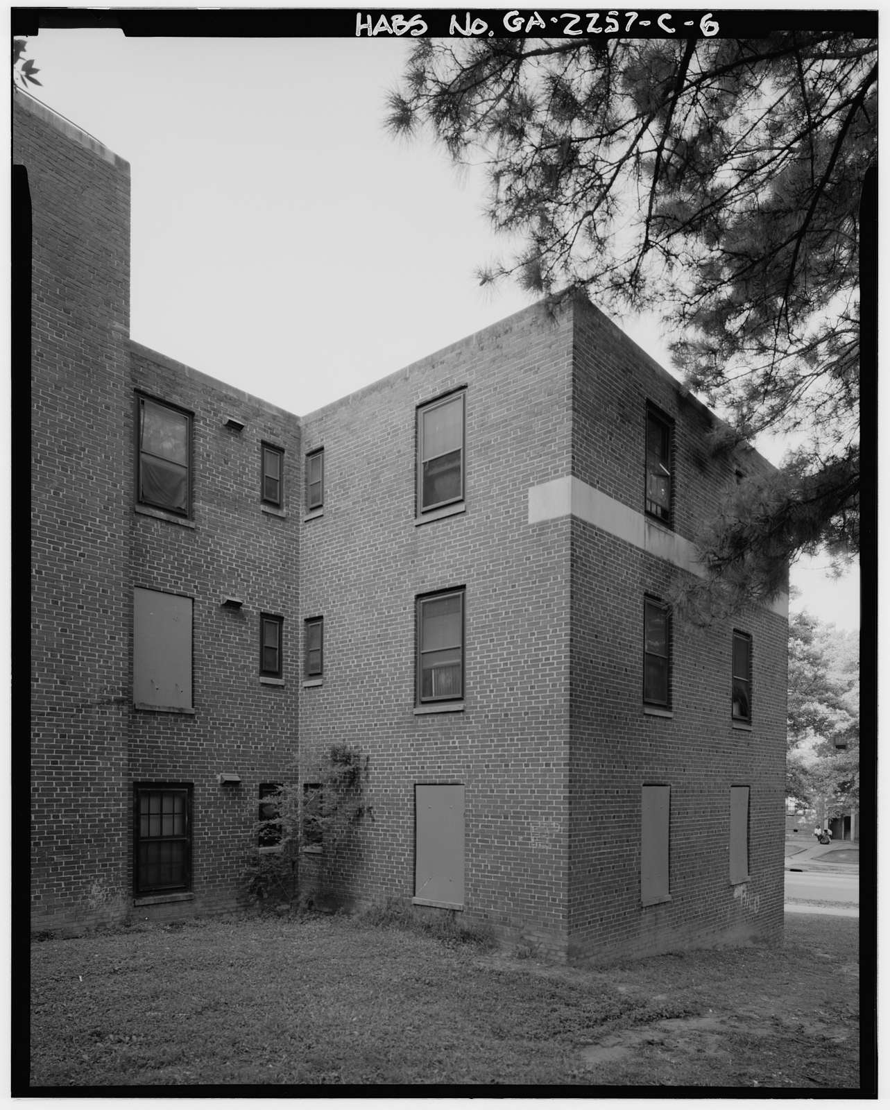 Techwood Homes, Building No. 1, 575-579 Techwood Drive, Atlanta, Fulton County, GA