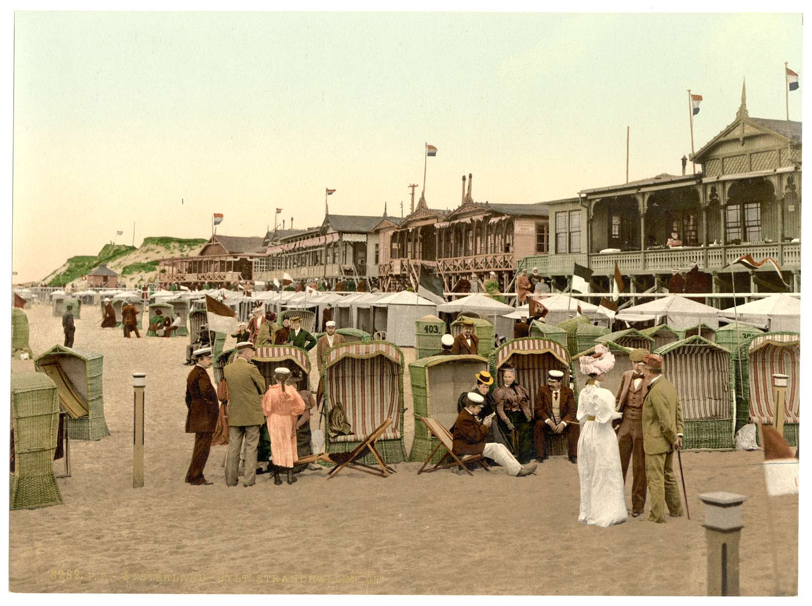 [The chalets, III., Westerland, Sylt, Schleswig-Holstein, Germany]