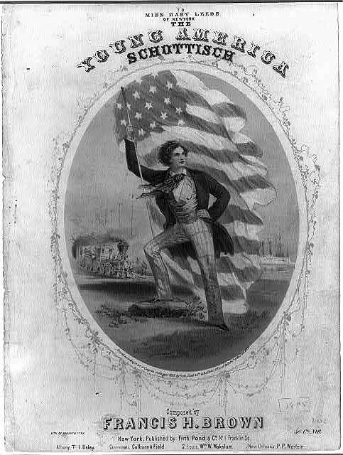 The young American schottisch