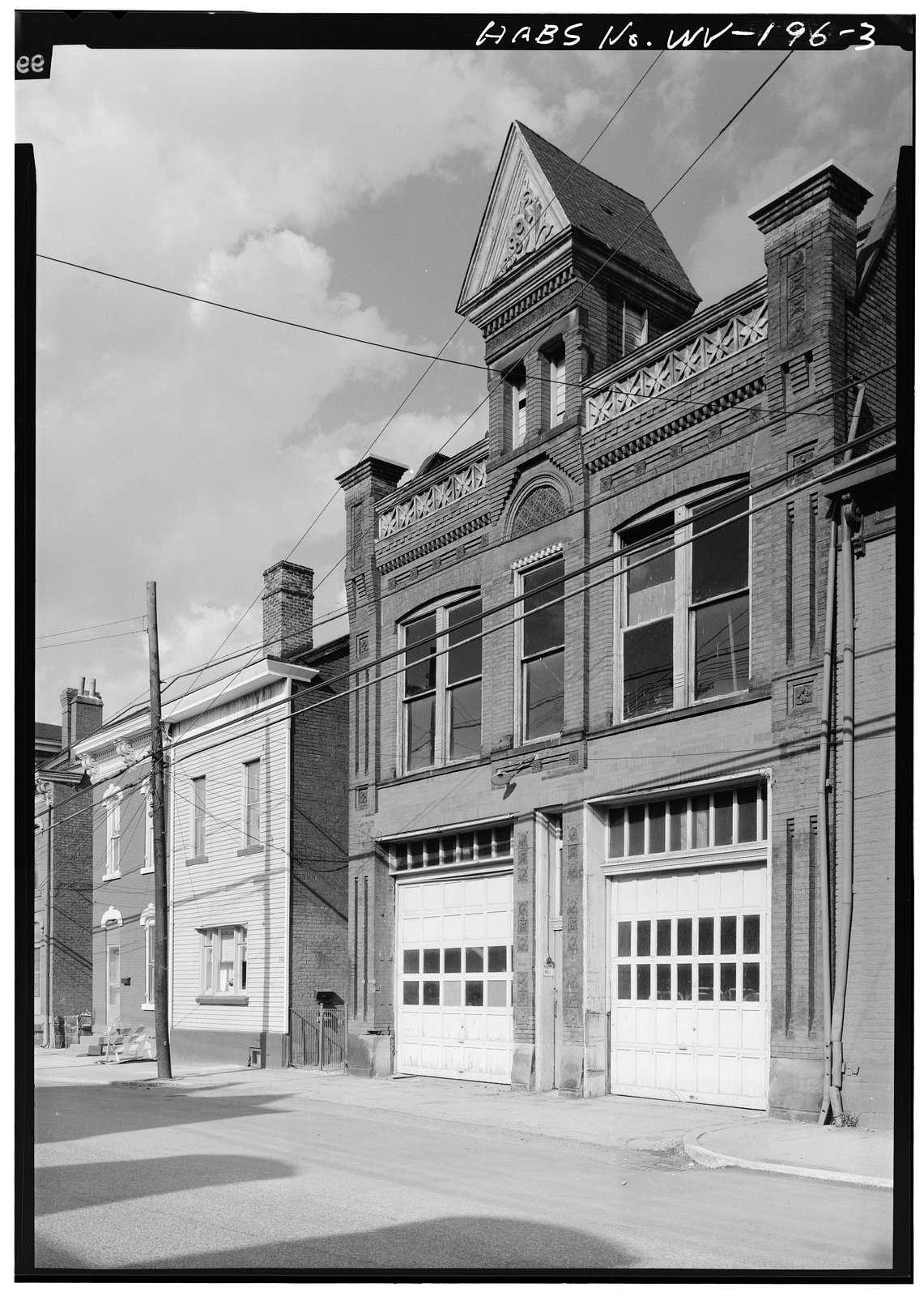 Vigilant Engine House, 648-650 Main Street, Wheeling, Ohio County, WV