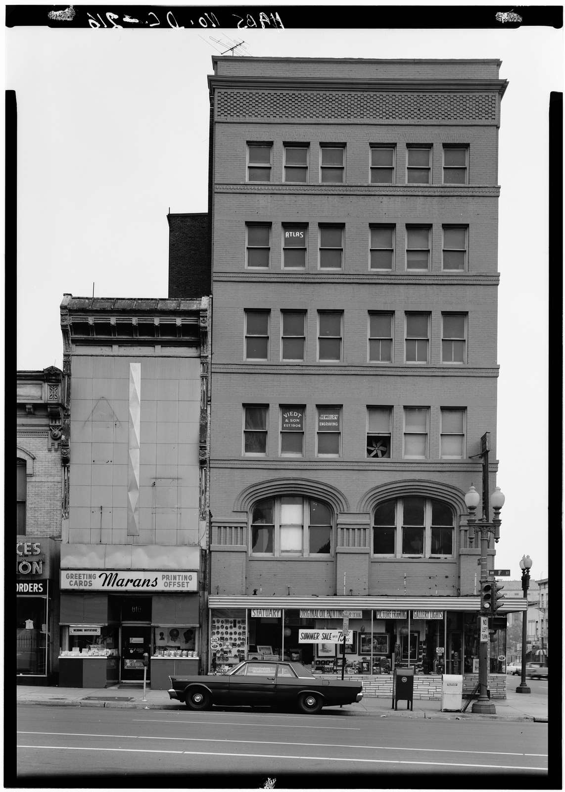 Warder Building, 527 Ninth Street Northwest, Washington, District of Columbia, DC