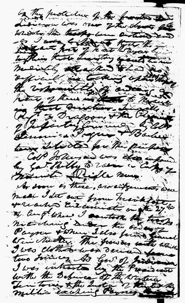 William Henry Harrison Papers: Series 1, General Correspondence, 1734-1939; 1813-1939, Sept