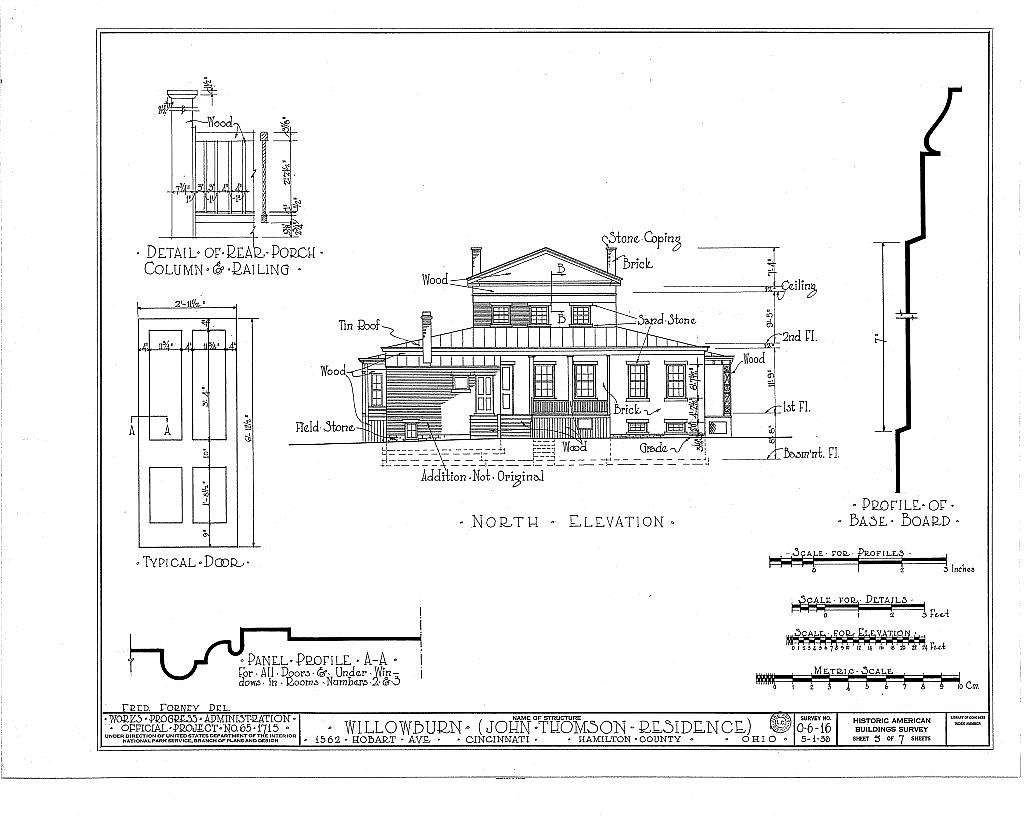 Willowburn, 1562 Hobart Avenue, Cincinnati, Hamilton County, OH