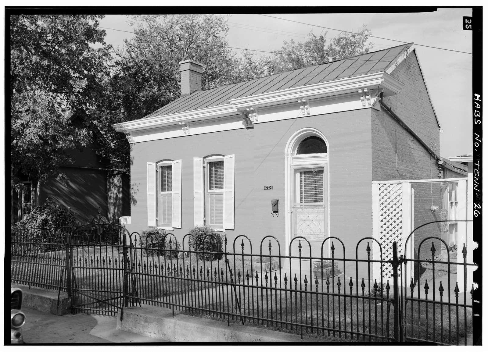 Worker's House, 1724 North Jefferson Street, Nashville, Davidson County, TN