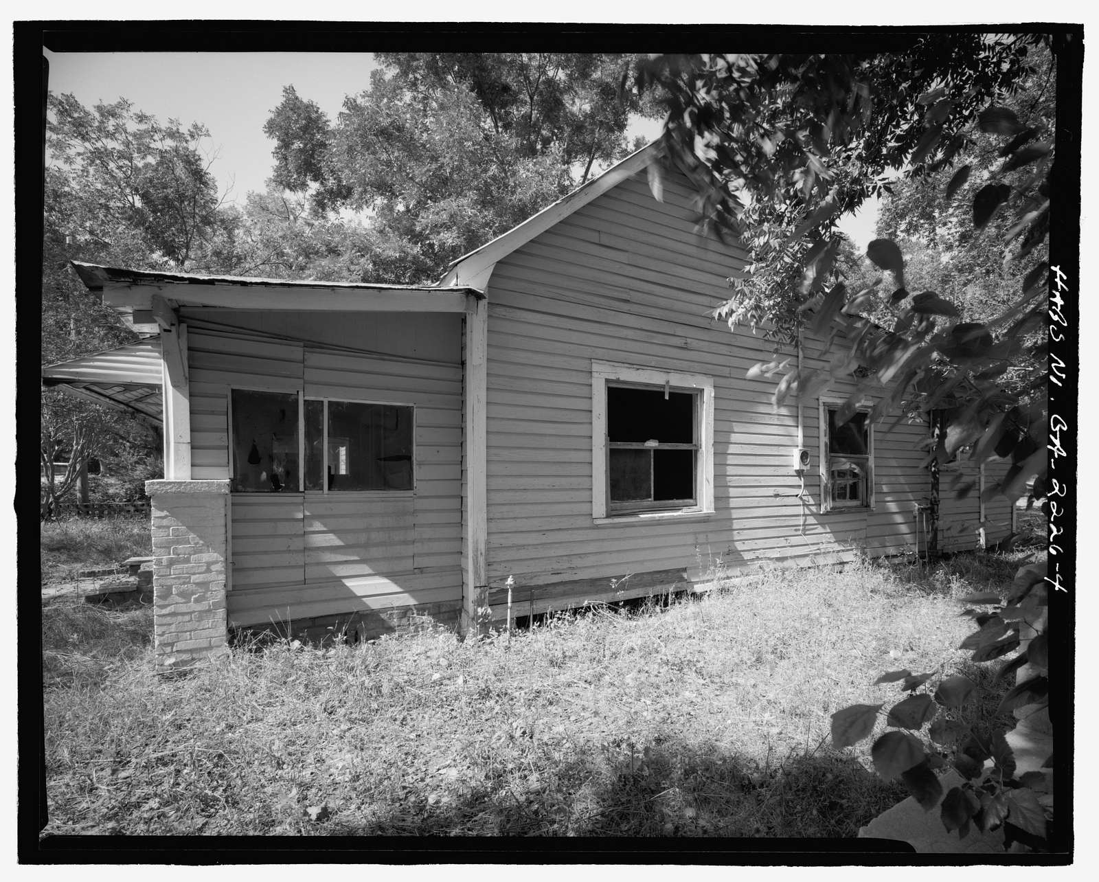 808 Short Bewick Street (House), Waycross, Ware County, GA