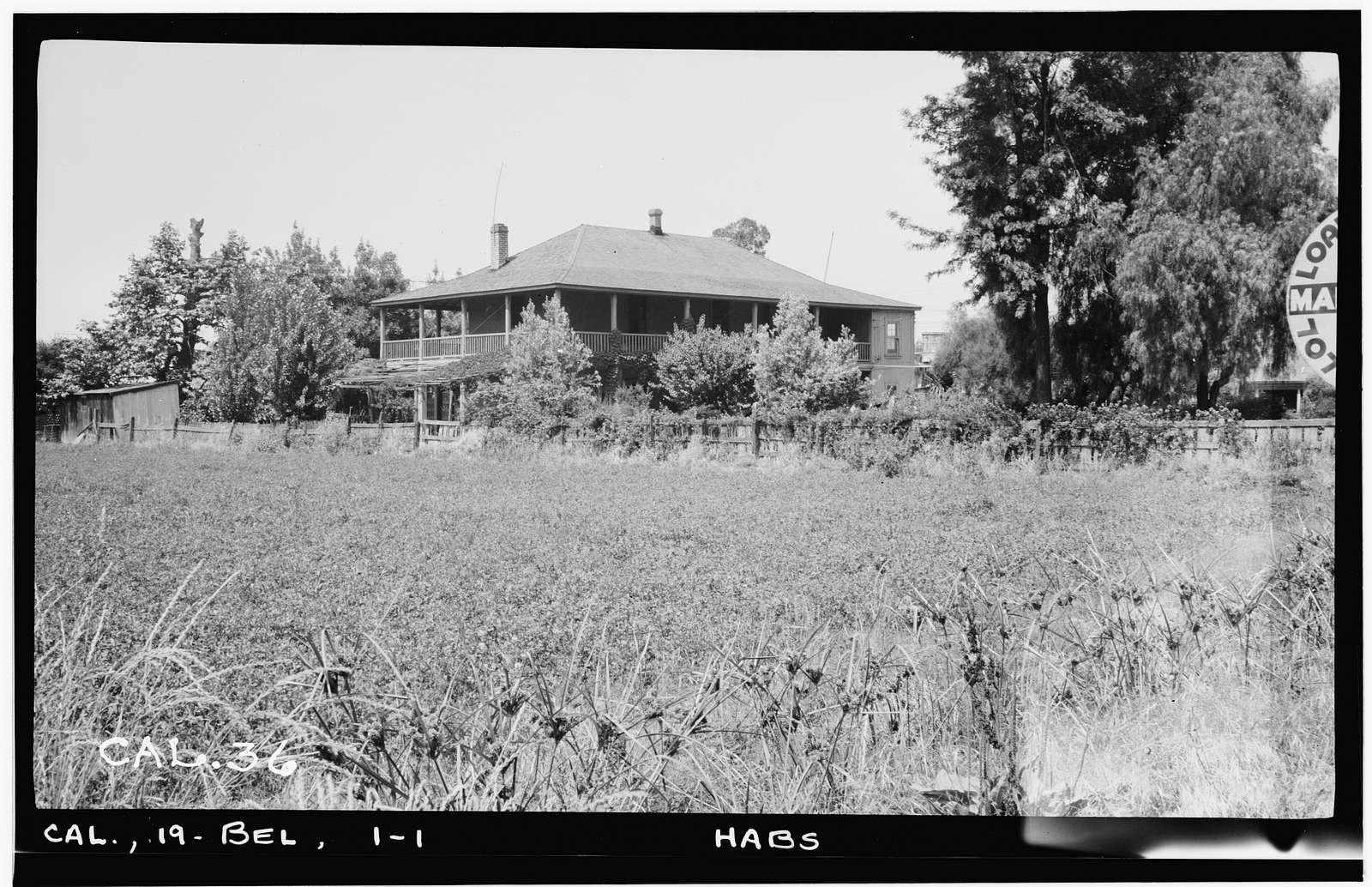 Casa del Rancho San Antonio, 6360 East Gage, Bell, Los Angeles County, CA