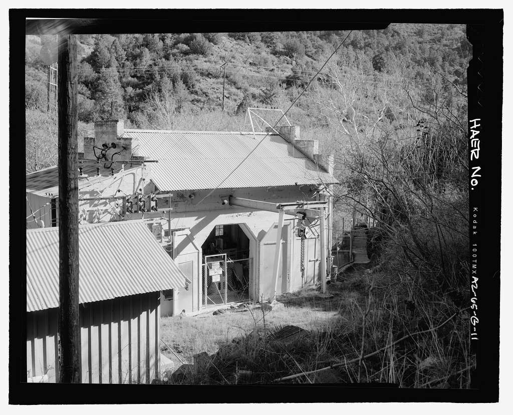 Childs-Irving Hydroelectric Project, Irving System, Irving Powerhouse, Forest Service Road 708/502, Camp Verde, Yavapai County, AZ