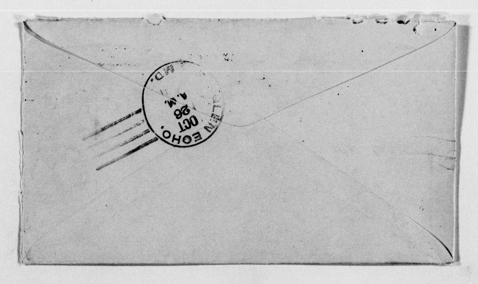 Clara Barton Papers: Family Papers: Barton, William E. (cousin); Correspondence, 1901-1929, undated