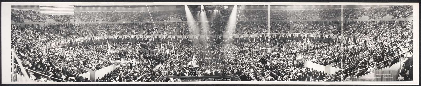 Democratic National Convention, Los Angeles, California, July, 1960