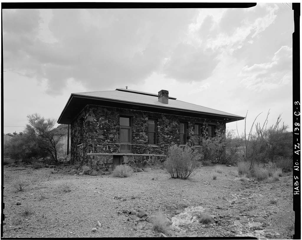 Desert Botanical Laboratory, Chemistry Building, Tumamoc Hill, Tucson, Pima County, AZ