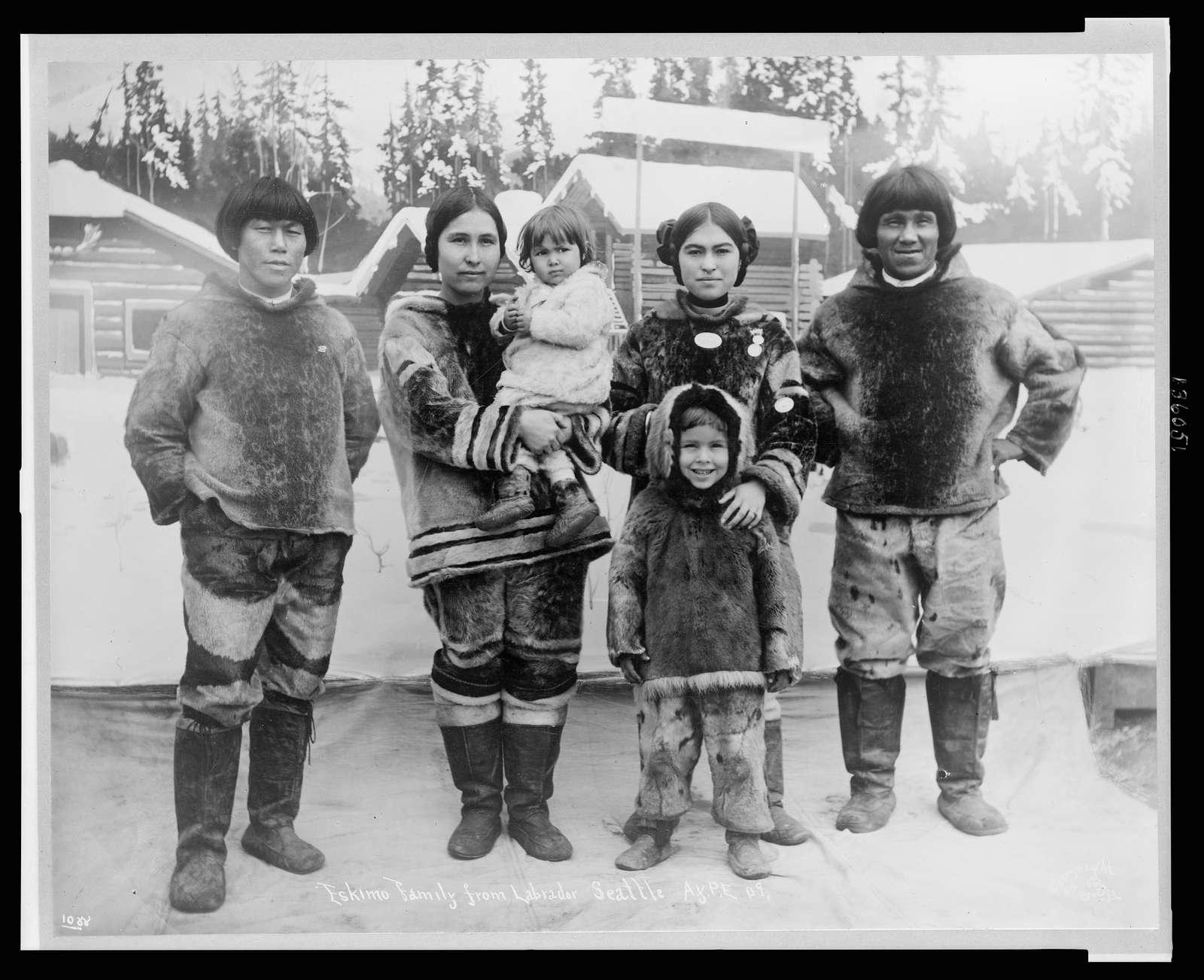 Eskimo family from Labrador Seattle A.Y.P.E.