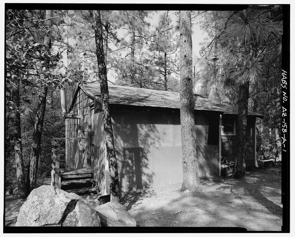 Horsethief Basin Resort, Cabin No. 1, 7 miles Southeast of Crown King, Crown King, Yavapai County, AZ