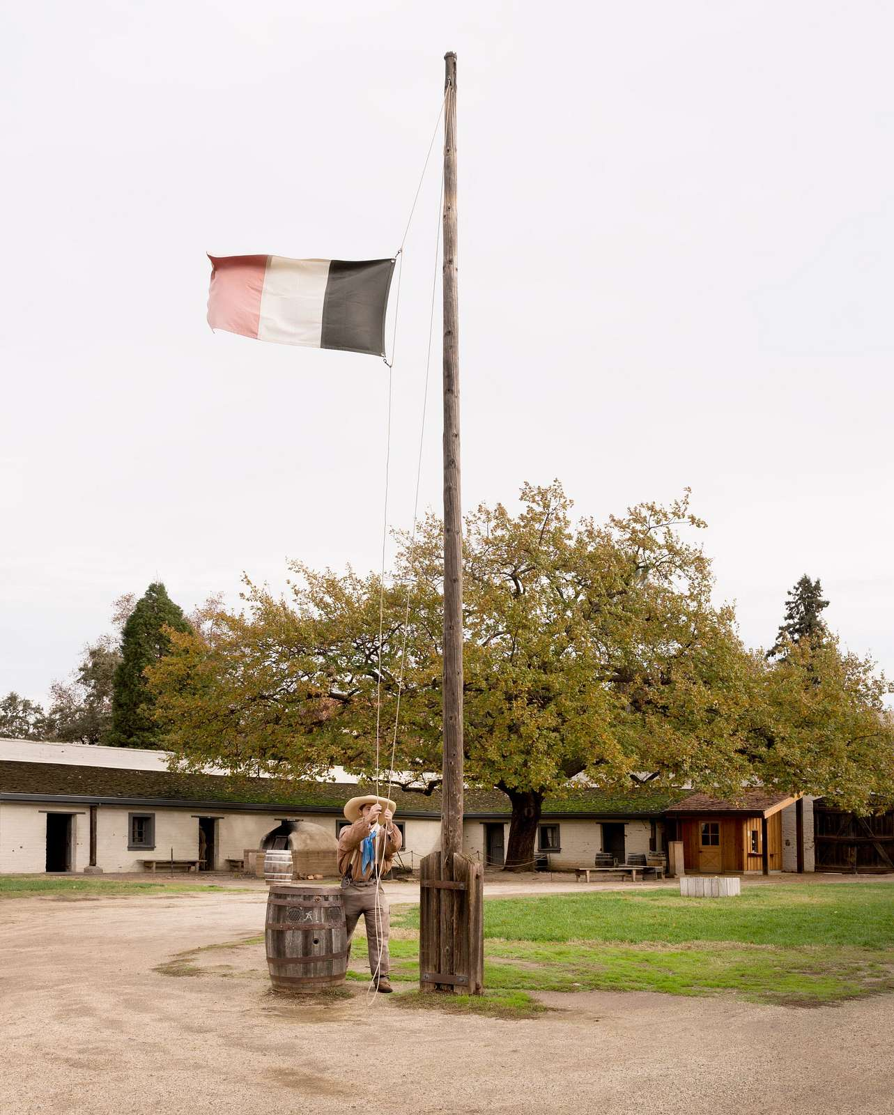 Sutter's Fort is a State Historical Park in California's capital city of Sacramento