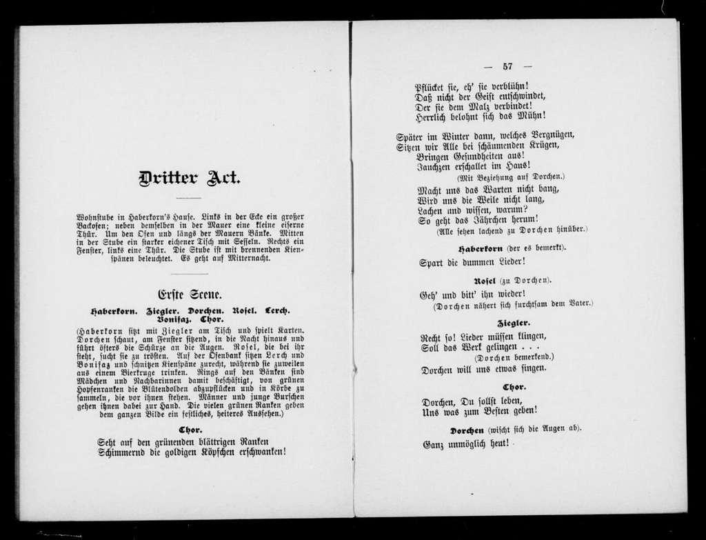Tajemstvé. Libretto. German
