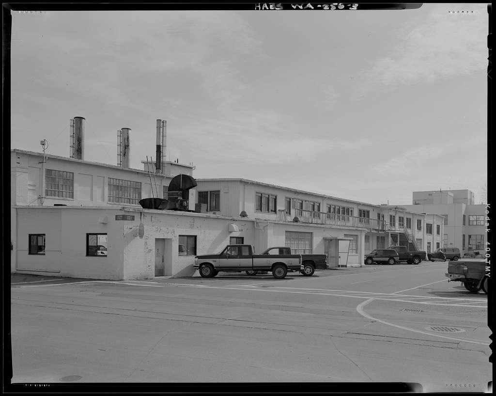 Torpedo Storehouse, Second & Dowell Streets, Keyport, Kitsap County, WA