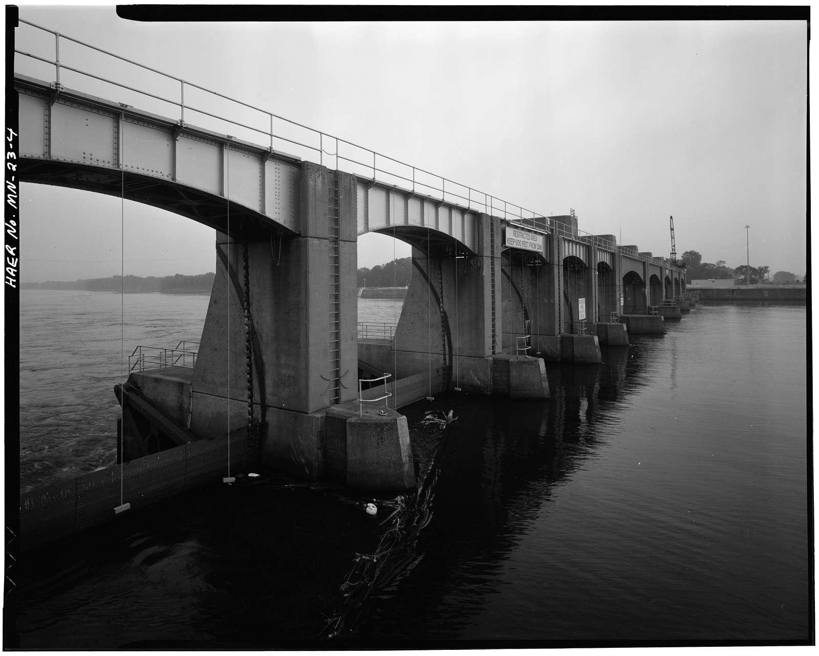 Upper Mississippi River 9-Foot Channel Project, Lock & Dam No. 5A, Winona, Winona County, MN