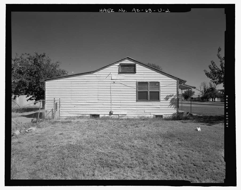 Wellton-Mohawk Irrigation System, Building No. 16 A-B (Duplex), 30652 & 30654 Wellton-Mohawk Drive, Wellton, Yuma County, AZ