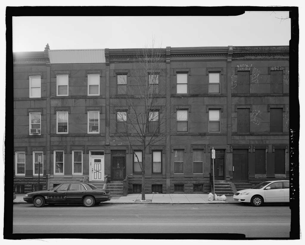 3100 Block Diamond Street (Houses), North & south sides between Thirty-first & Thirty-second Streets, Philadelphia, Philadelphia County, PA