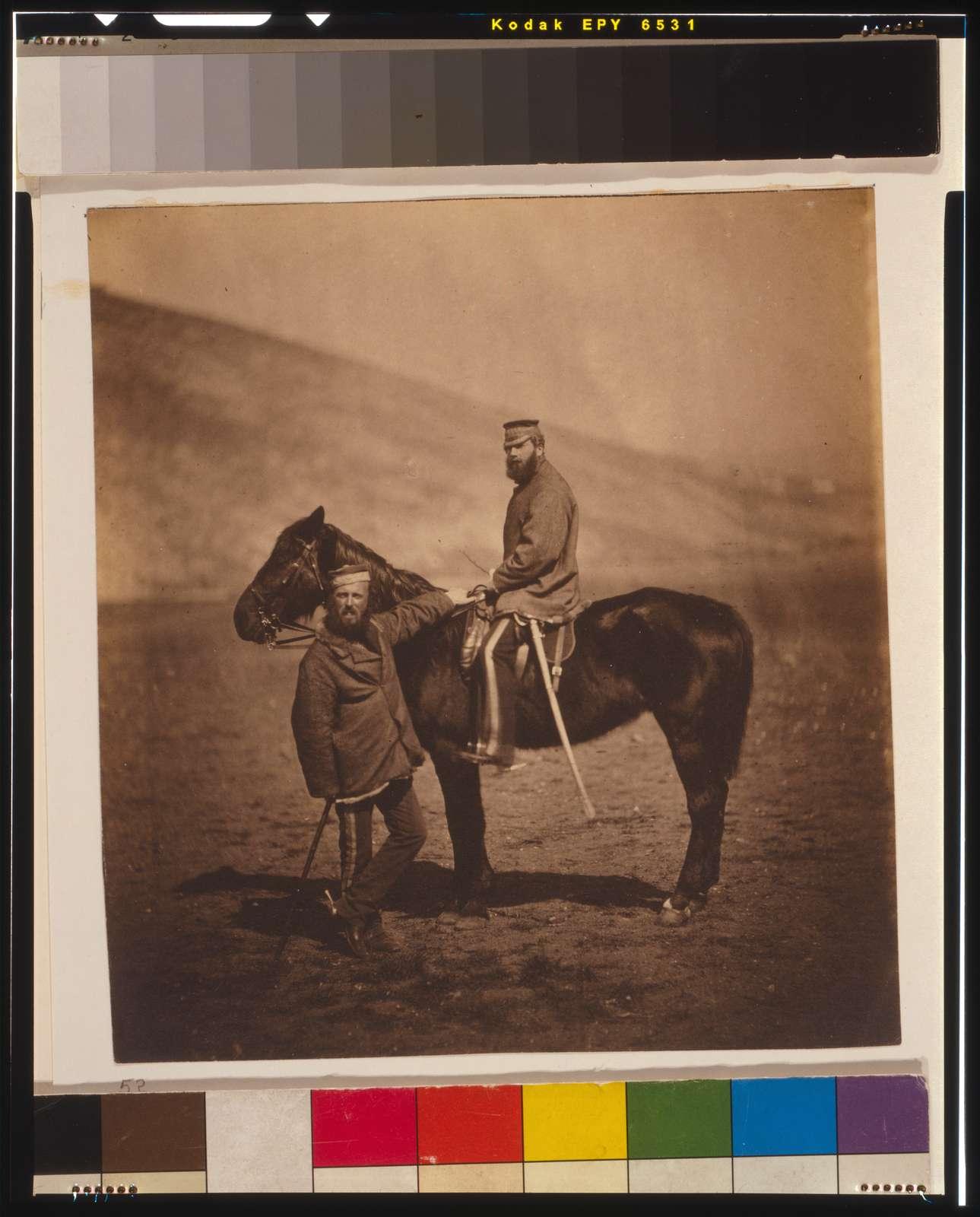 Captain Phillips & Lieutenant Yates, 8th Hussars