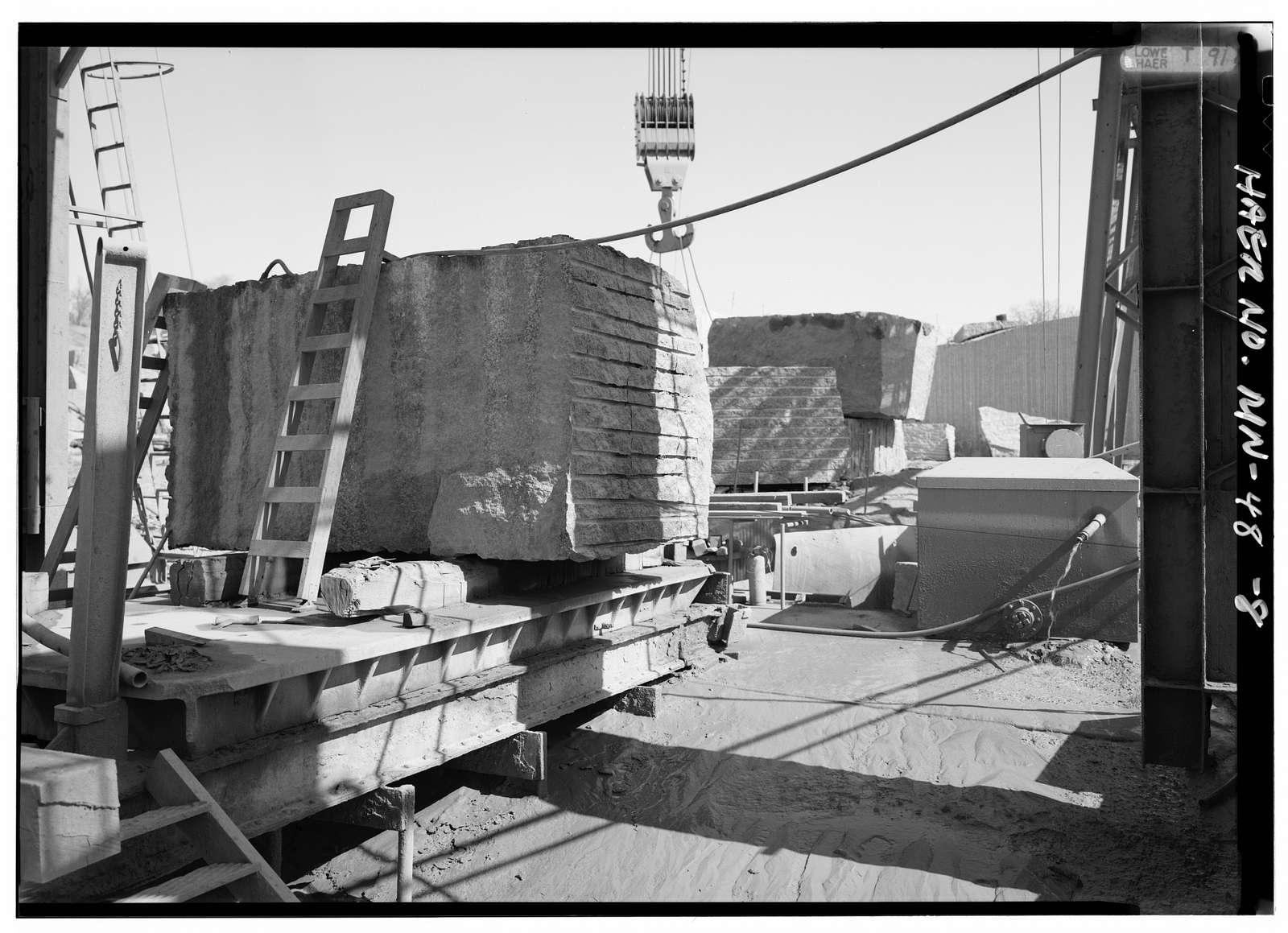 Clark & McCormack Quarry, Minnesota Highway 23 at Pine Street, Rockville, Stearns County, MN