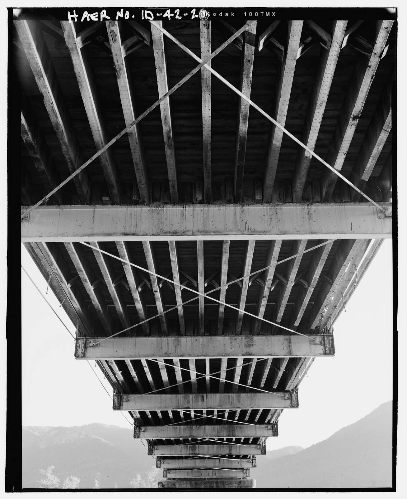 Clark Fork Vehicle Bridge, Spanning Clark Fork River, serves Highway 200, Clark Fork, Bonner County, ID