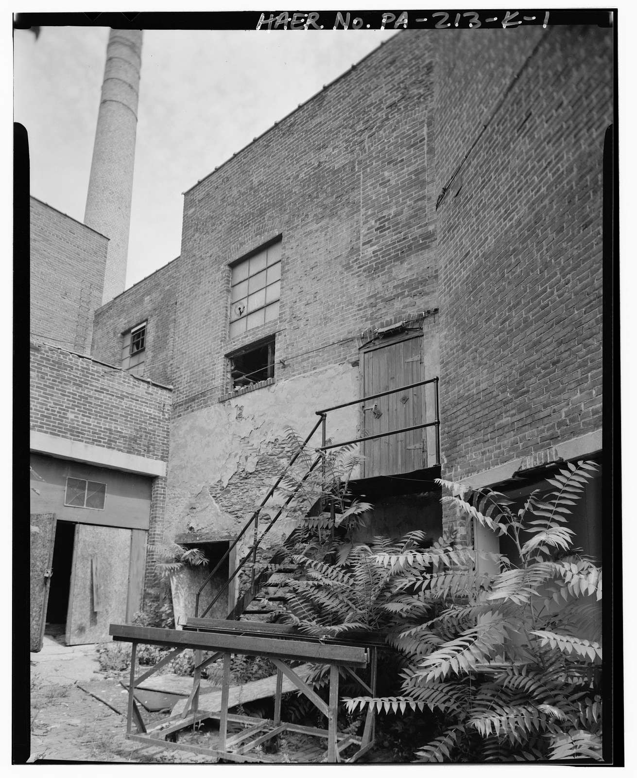 Daniel F. Waters Germantown Dye Works, Building K, 37-55 East Wister Street, Philadelphia, Philadelphia County, PA