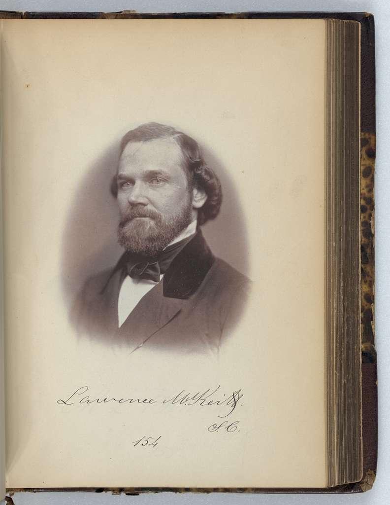 [Lawrence M. Keitt, Representative from South Carolina, Thirty-fifth Congress, half-length portrait]