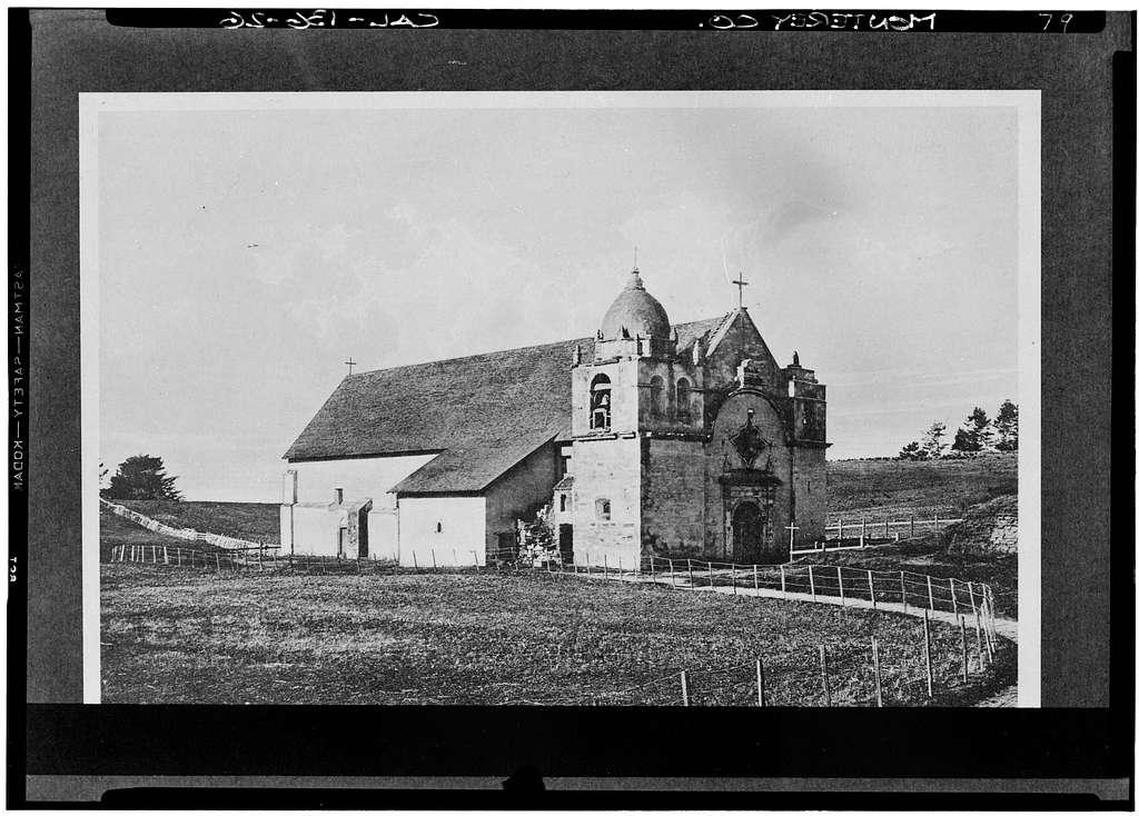 Mission San Carlos Borromeo, Rio Road & Lausen Drive, Carmel-by-the-Sea, Monterey County, CA