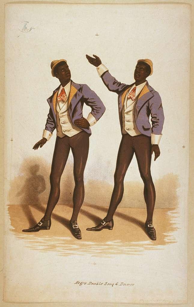 Negro double song & dance