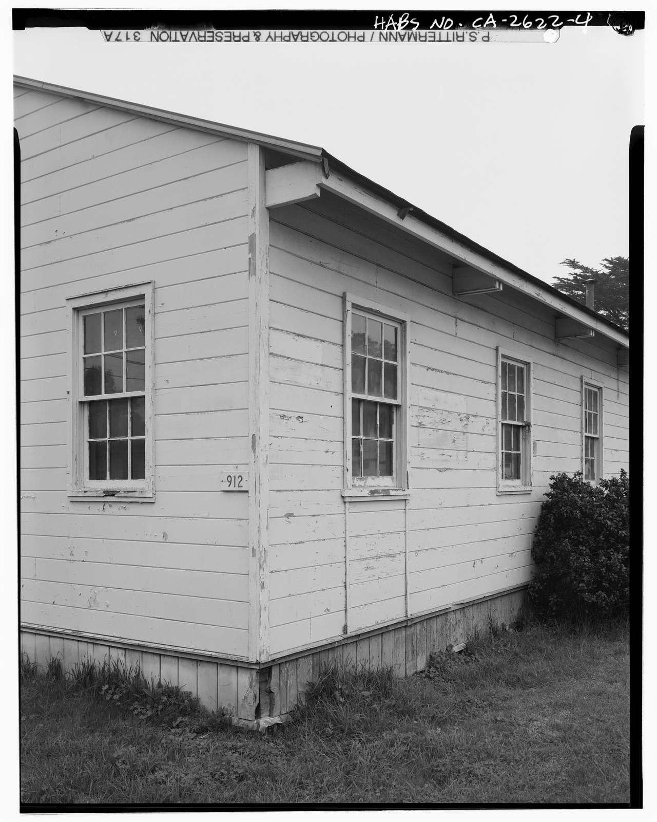 Presidio of San Francisco, Post Exchange, West end of Crissy Field, McDonald Street, San Francisco, San Francisco County, CA