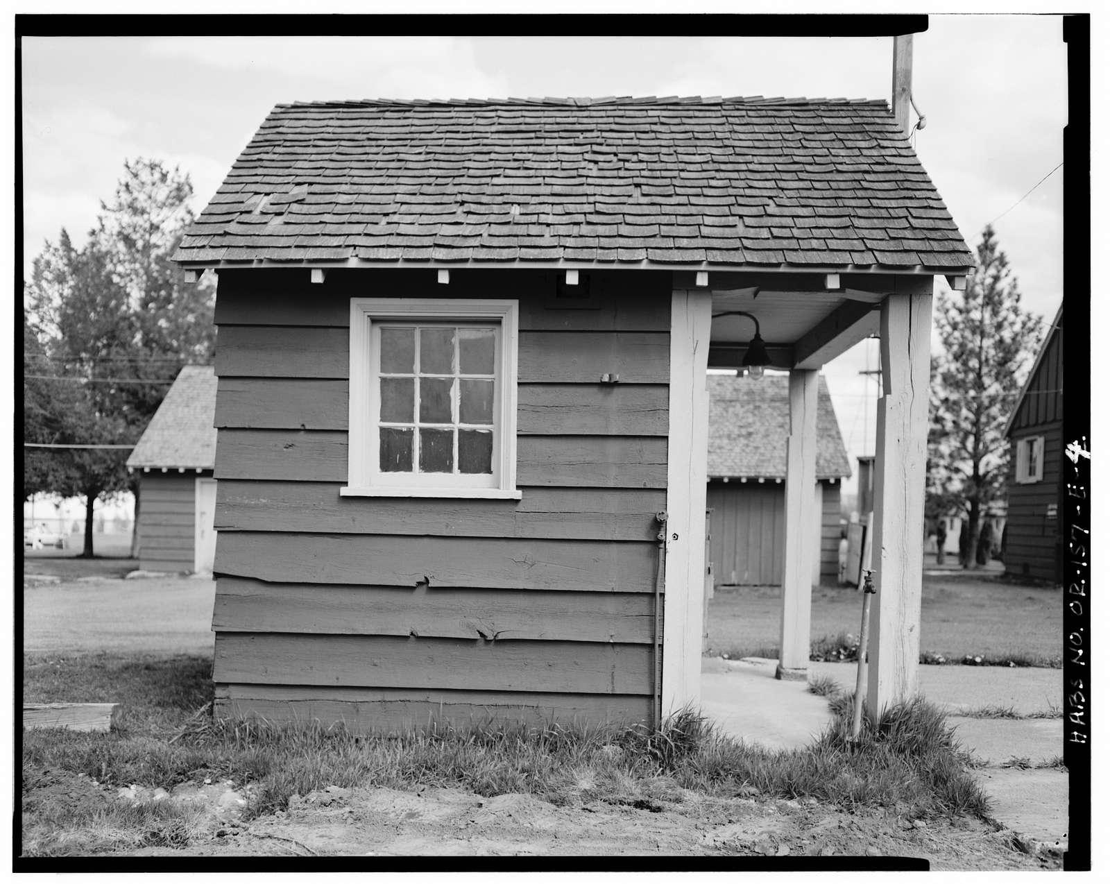 Wallowa Ranger Station, Gas House, 602 First Street, Wallowa, Wallowa County, OR