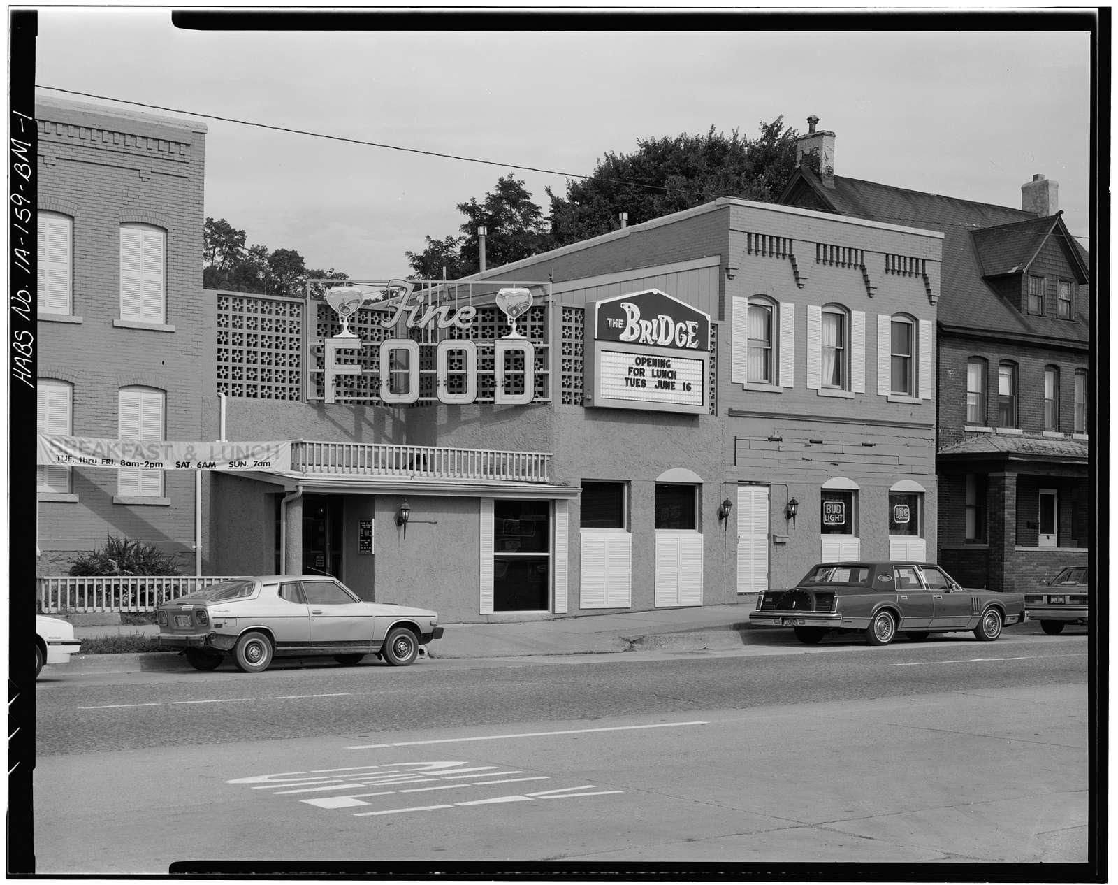 Workingmen's Houses, 31-35 Locust Street, Dubuque, Dubuque County, IA